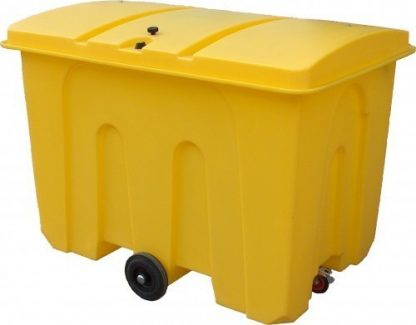 Romold 1000 Litre Polyethylene Storage Bin With Wheels
