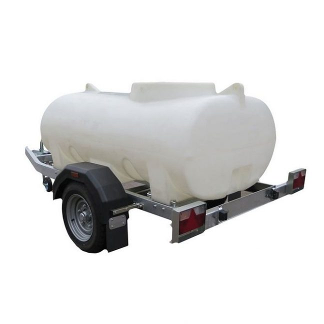 1200 Litre WRAS approved Trailer Mounted Water Bowser