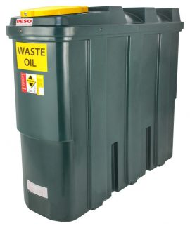 DESO SL1250WOW Bunded Waste Oil Tank