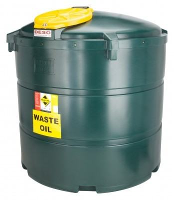 1340 litre bunded waste oil tank