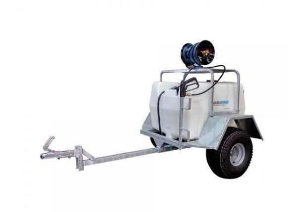 1410 manual reel spray trailer