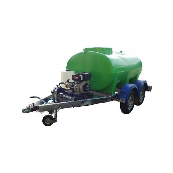 142502004 HT 2000 Litre Highway Tow Interpump Pressure Washer Trailer Unit