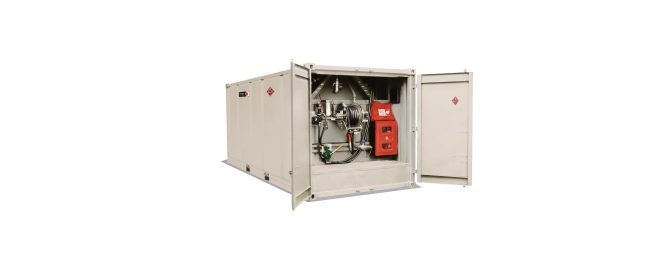18500 Litre Transportable Container Diesel Tank