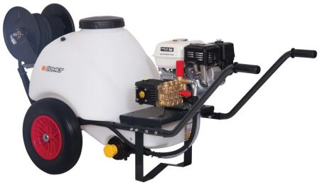 Portable Pressure Washer with Built-in Water Tank - 200Bar, 120L