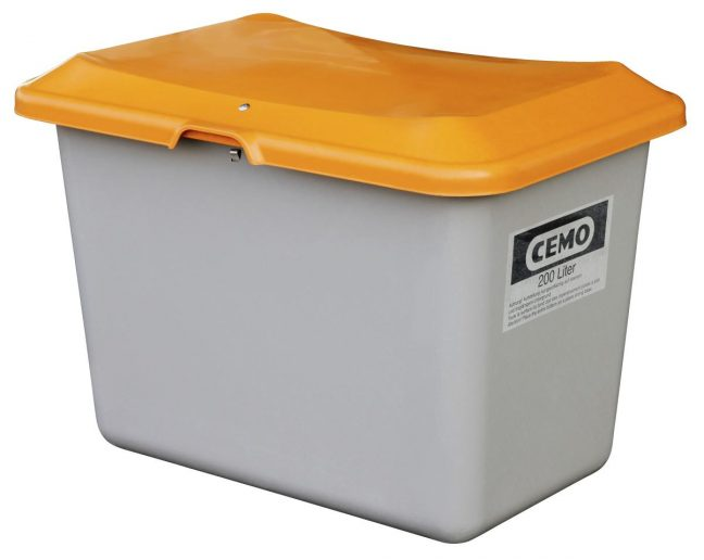 200l grit container CEMO
