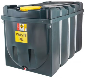 DESO H2500WOW Bunded Waste Oil Tank