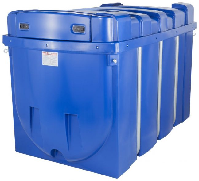 2500 litre adblue Dispenser DESO H2500 ADBLUE CLOSED