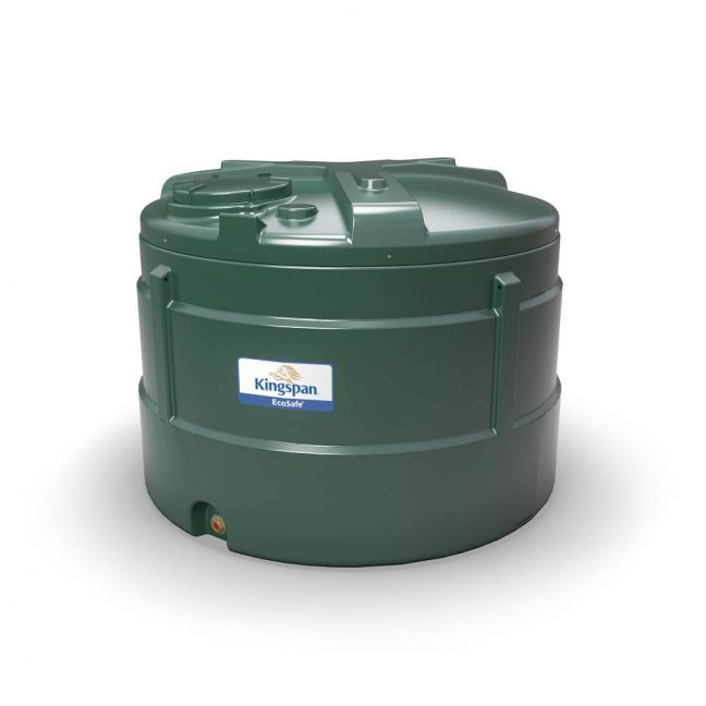 2500 litre vertical bunded oil tank ESV2500
