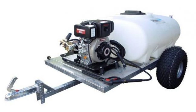 Site Tow Pressure washer bowser