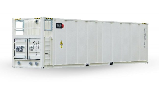 12500 Gallon Transportable Diesel Container