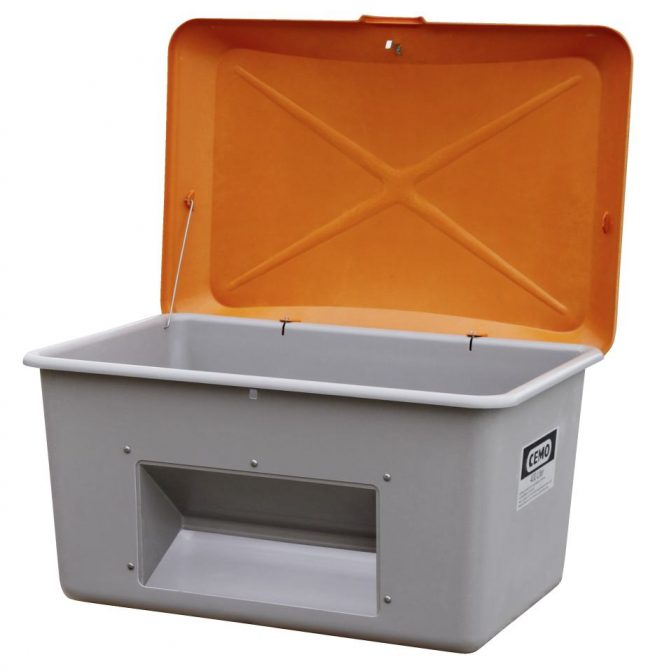 400l grit container cemo