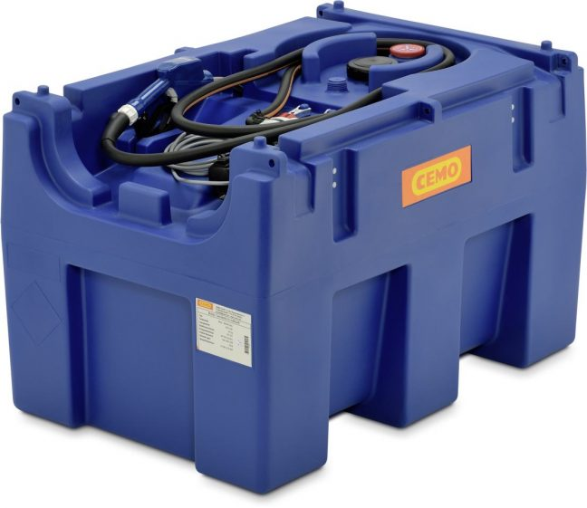 430l mobile adblue tank electric pump 10199