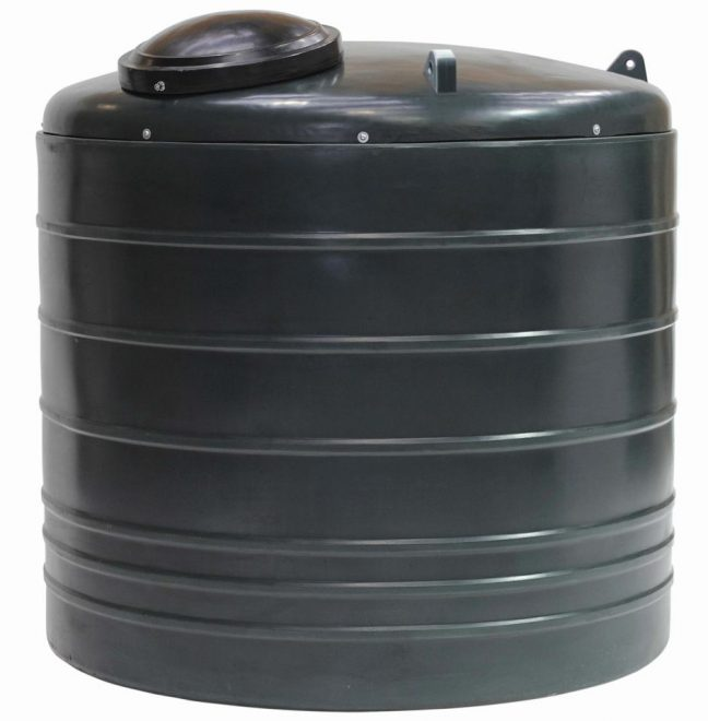 5000EVB bunded oil tank vertical