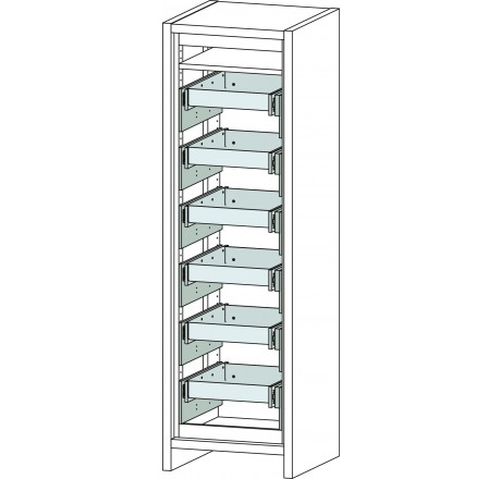 6 drawers f safe secure cabinet 6 20 fwf 30 shelves