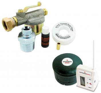 Watchman Gauge and Outlet Filter Pack - DESO