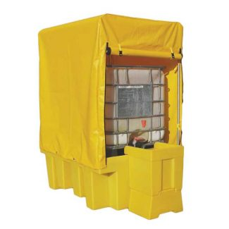 IBC Bund Spill Containment with Frame & Cover - BB1C