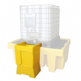 Romold BB1T IBC Bund Spill Containment Overflow Tray