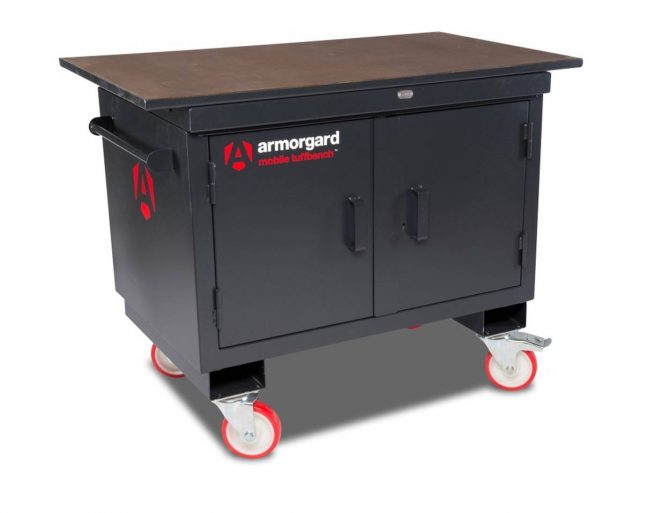 BH1270VF with top mobile workbench heavy duty cabinet vice