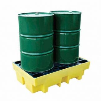 Romold BP2 - 2 Drum & Barrel Bund Spill Pallet
