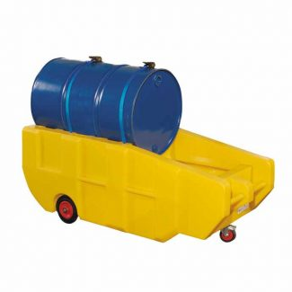 Romold BT230 - 1 Drum Bund Spill Pallet With Wheels