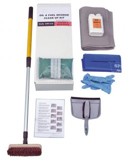 Concrete & Block Paving Oil Stain Cleaning Kit