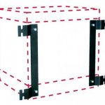 Cube wall mounting kit