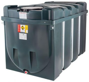 2500 Litre Bunded Oil Tank - H2500BT