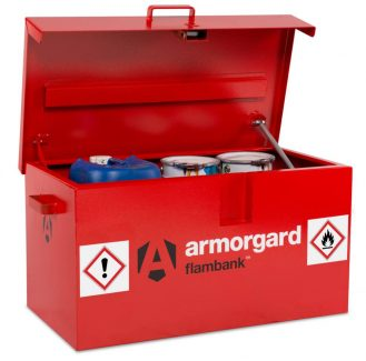 Armorgard Flambank FB1 Van Box Petrol Can Storage