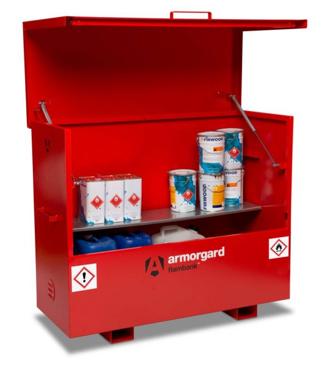 Fire Bank Transportable Site Chest
