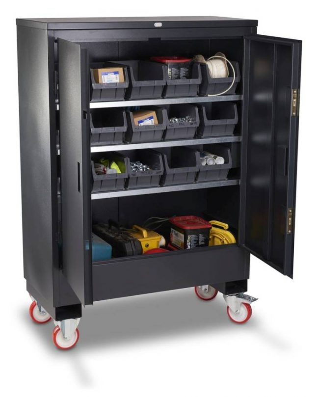 Mobile Cabinet on Wheels