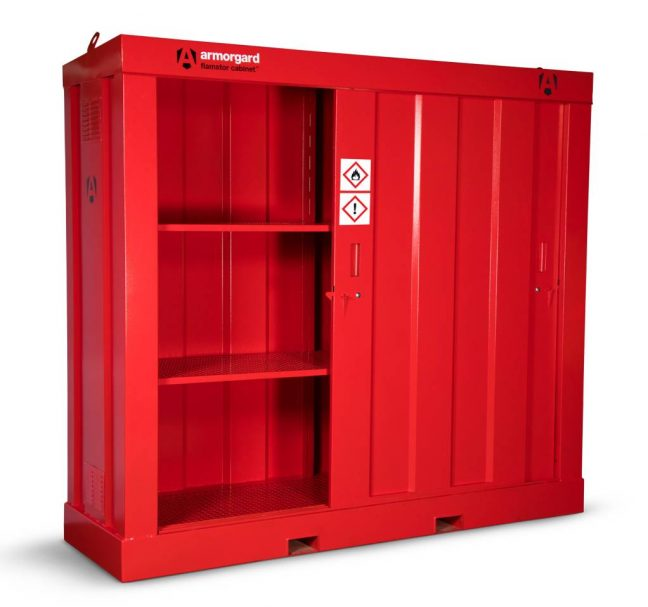 Corrugated Flammable Storage Cabinet