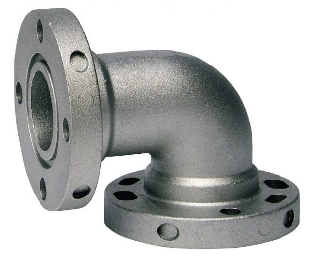 Flanged Elbow