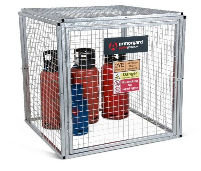 GGC4 Closed Gorilla Gas Cage Security Cage Gas Cylinders