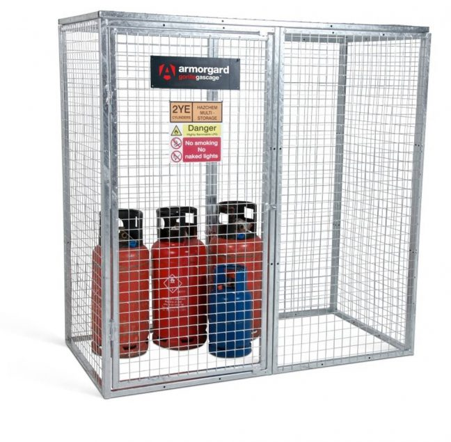GGC7 Closed Gorilla Gas Cage Security Cage Gas Cylinders