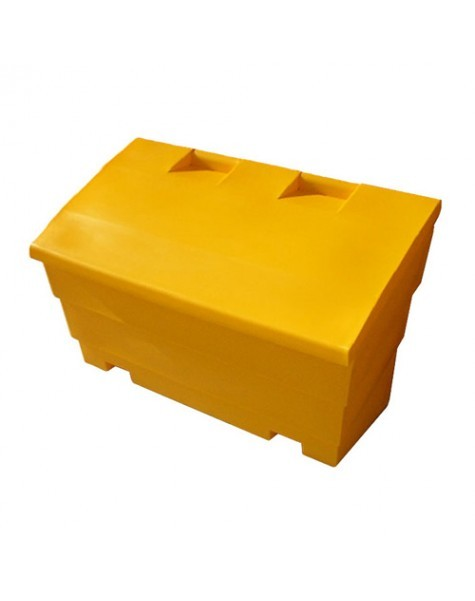 Gritbin yellow 12ft 300 litre