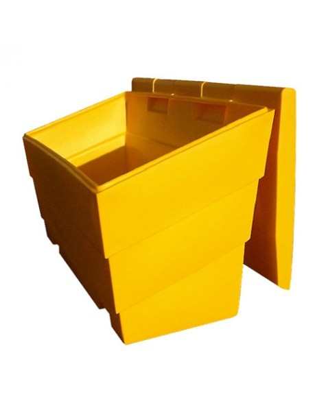 Gritbin yellow 6ft 175 litre