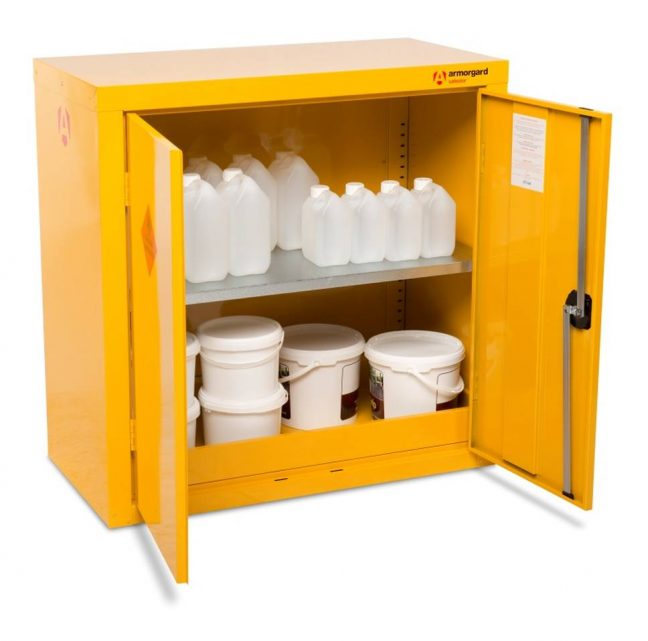 HFC3 open prop safestor Safety Cupboard