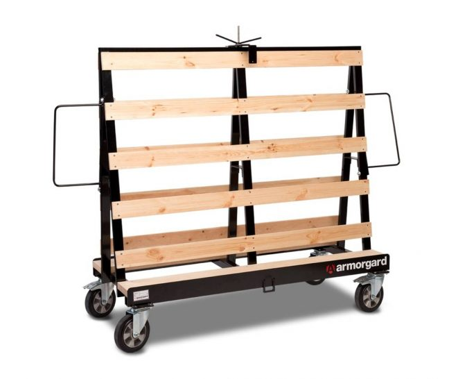 LA1500 2 Load all Mobile Material Trolley storage