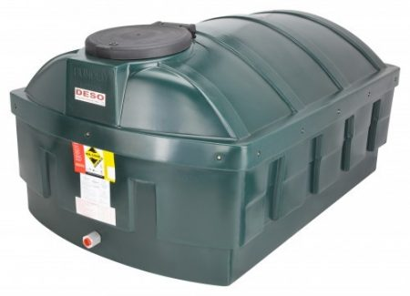1200L Low Profile Bunded Oil Tank - LP1200BT