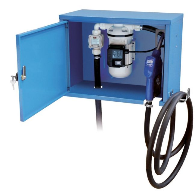 New fuel flow meter Wall Box