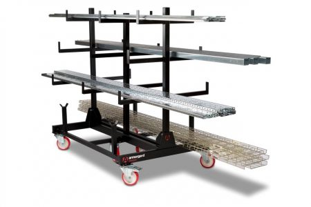 Armorgard PipeRack PR2 Mobile On-Site Pipe and Conduit Storage Solution