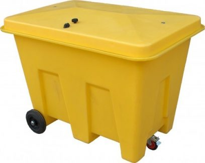 350L Plastic Storage Bin with Wheels - PSB1W