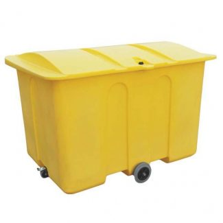 1400 Litre Plastic Storage Bin With Wheels - PSB3W
