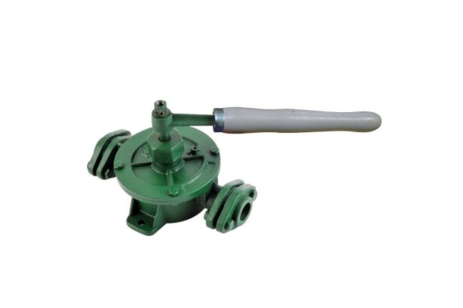 Semi Rotary double action pump
