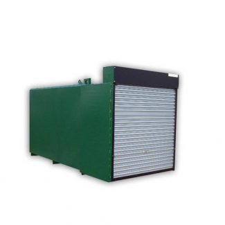 27000 litre Totally Enclosed Bunded Steel Fuel Tank