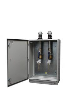 Tank Twin Fill Point Cabinet