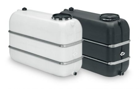 WERiT 1650 Litre Tank With Binding Bands