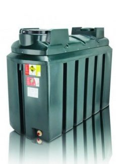 1225L Slimline Bunded Oil Tank - Atlas 1225BSA
