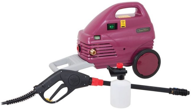 cl24rk cleanmatic electric pressure washer