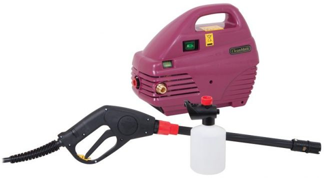 cl24v cleanmatic electric pressure washer